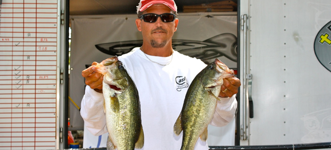 Seagrove anglers win on muddy High Rock