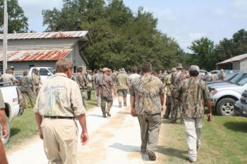 Some WMA dove hunts draw a crowd of hunters on opening day, but in many cases, that makes the shooting better.
