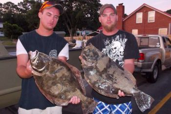 Flounder fishing in the Sneads Ferry area has been great since a cold front rolled through the area last weekend.