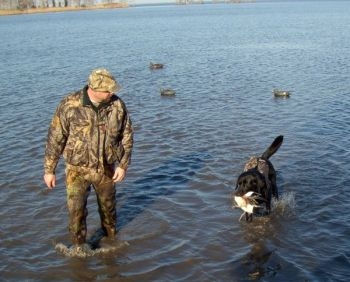 All hunting and fishing activities on federal properties, including waterfowl hunts on Lake Mattamuskeet NWR, have been suspended by the federal government shutdown.