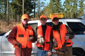 Blaze-orange clothing is required in North Carolina for many different kinds of hunting.