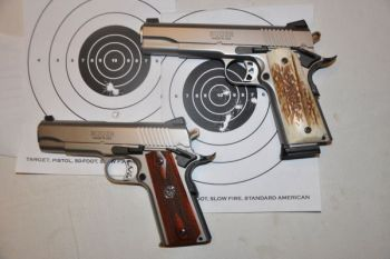 Ruger offers two 1911 versions with many features that once were only available in custom guns.