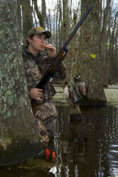 The draw to hunting smaller bodies of water is the variety of ducks that can be encountered.