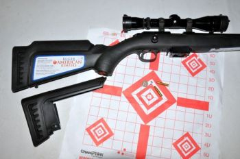 The Ruger American Rimfire is solidly built, has an adjustable stock and can flat-out shoot.