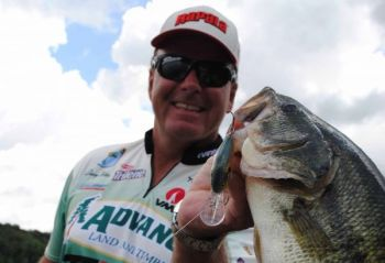 Lots of big, prespawn bass can be fooled by a crankbait with a tight wobble on lakes around South Carolina this month.