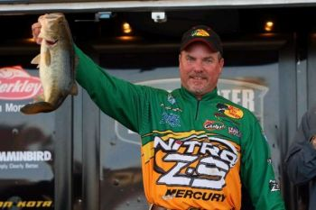 Bassmaster pro Dennis Tietje said a soft-plastic crawfish is a universal bass catcher.