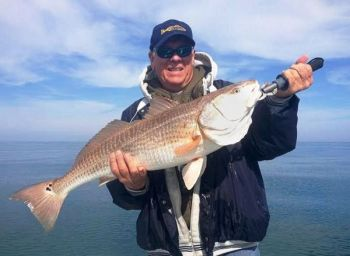 Overlot redfish have been around several nearshore reefs off Hilton Head, but huge schools of mixed-sized reds are on inshore flats around oysters.