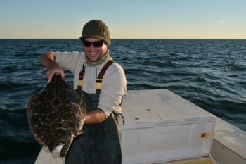 Eighty flounder a year for the next four year will be tagged as part of a study funded by CRFL funds.