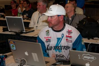 Maiden's Hank Cherry missed the Top 25 cut in the 2014 Bassmaster