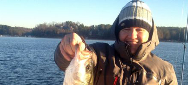 Hot-hole effects driving good Lake Norman fishing
