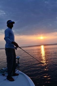 Bulls Bay is a great spot for spring South Carolina speckled trout.
