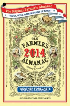 The Farmers' Almanac has been helping with planting schedules and other farming activities for centuries.