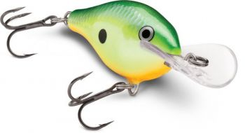 The lips on the Scatter line of Rapala crankbaits give the lures action that drives bass to bite.