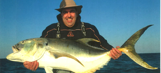 Potential state-record jack crevalle caught out of Wrightsville Beach