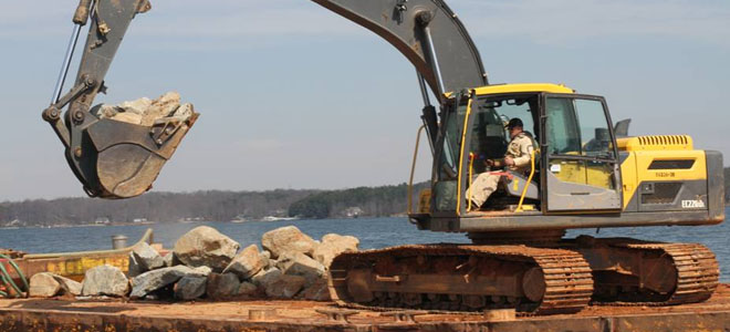 N.C. Wildlife Federation puts finishing touches on Lake Norman rock reefs