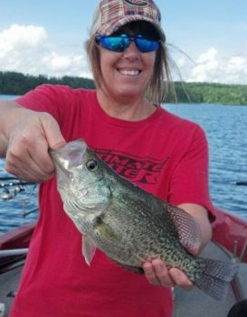 Late-spring crappie fishing at Jordan and Falls of the Neuse lakes is producing slab crappie in water 16 to 25 feet deep.