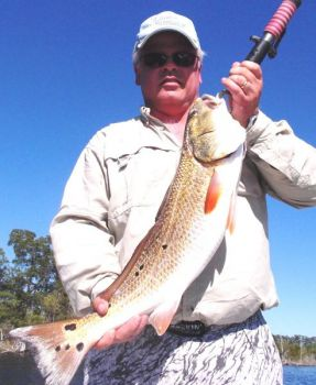 Summer fishing patterns are starting to develop in the Sneads Ferry area for redfish, flounder and speckled trout.