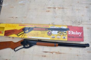 If you hunt, the odds are your first shot was taken with a Daisy Red Ryder BB gun.