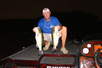 After dark is a great time to fish for summer largemouth bass -- if you know which lures are the most productive.