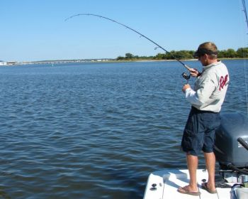 Fishing the tide for flounder carolina sportsman for Harkers island fishing report