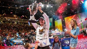 Anthony Gagliardi of Prosperity won the FLW'S Forrest Wood Cup  on Lake Murray by a single ounce on Sunday.