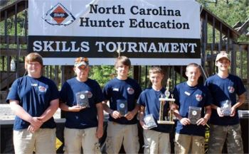 The Yadkin Patriots from Forbush Middle School won the junior-division national championship at the Youth Hunter Education Challenge in Pennsylvania.