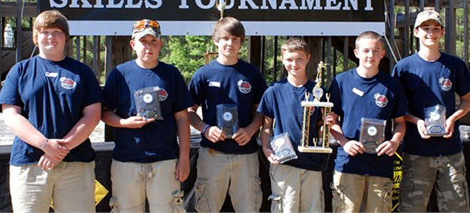 Yadkin County hunter-ed team wins national championship