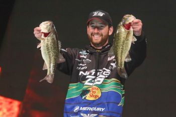 Ott DeFoe used a Terminator Weedless Football Jig to win a Bassmaster Open earlier this year.