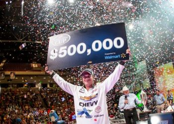 Bass pro Anthony Gagliardi of Prosperity won the FLW's Forrest Wood Cup and its $500,000 first-prize money by having a backup plan for Lake Murray last week.