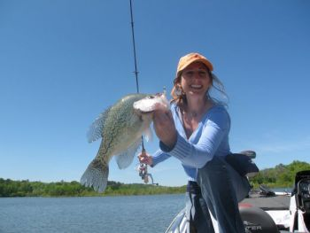 Jordan Lake is once again producing some bragging-sized crappie after a 2011 fish kill.