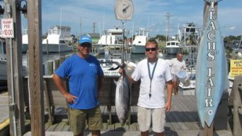 A 16-year-old from Chesapeake, Va., caught a North Carolina record skipjack tuna out of Hatteras on Aug. 30.