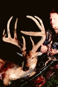 A hunter from Butner has killed a huge Granville County buck, almost a year after being seriously injured in a tree-stand fall.