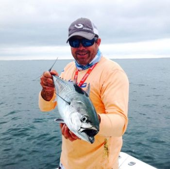 Spanish mackerel, bluefish and false albacore are making anglers' days productive off Cape Lookout.