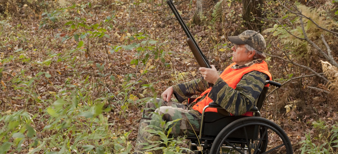 Regulation change is a good one for disabled-sportsman hunts