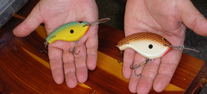 Hand-carved, custom crankbaits can be great investments for anglers
