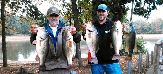 Has High Rock drawdown created a perfect bass-fishing storm?