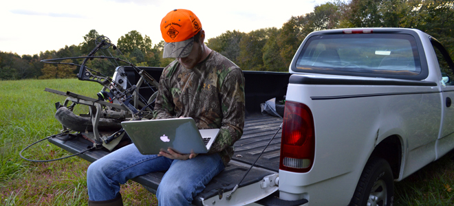 Link up to technology and do obtain great hunting info without going to the woods
