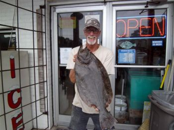 The Southport area remains full of flounder, and fishermen are catching some big ones.