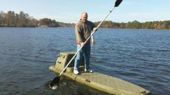 Paddleboards like the Flatstalker are excellent vessels for getting into hard-to-reach places during waterfowl seasons.