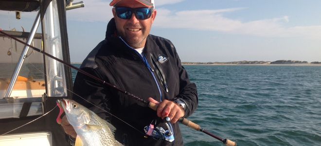 Gray trout, red drum and bluefish set up a Cape Lookout angler's buffet
