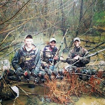 Upstate beaver swamps were full of ducks for last weekend's season opener for Cabela's employees Cody Waldrop, Art Wimberley and Brandon Seffrin.
