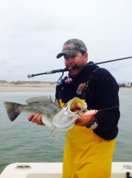 Harkers island guide celebrates birthday with 9 pound for Harkers island fishing report