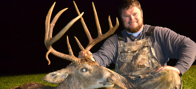 Burlington hunter drops hammer on huge Caswell County buck
