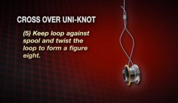 Learn to tie a slim beauty knot, a knot that is becoming more popular as the popularity of braided line increases.