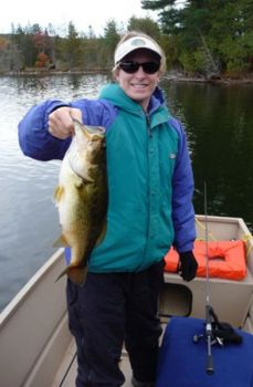 Bass will bite through the winter under a variety of the right conditions.