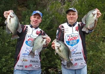 Have a game plan and follow it. That's one of six tips from a pair of crappie pros that can get you more slabs during the winter.