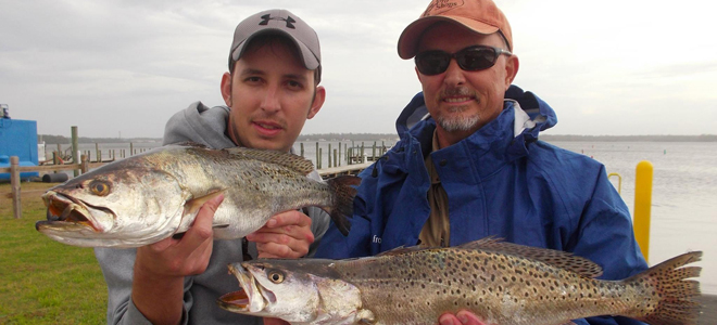 Creeks off New river producing plenty of specks, reds for Sneads Ferry anglers
