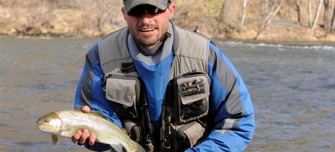 Don't forget winter trout fishing in the mountains, where cold means hot