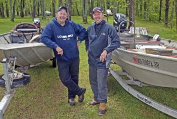 Not all anglers need huge boats. And, as pro anglers Scott and Marty Glorvigen know, smaller electronics better fit the smaller crafts most families use.
