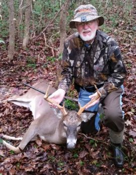 A Monroe man's entry of a Union County 8-pointer has won the grand prize in North Carolina Sportsman's annual Bag-A-Buck contest.